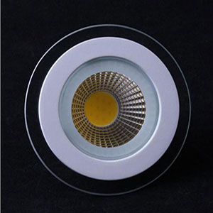 Led Downlight Cob Dimmable 7w 10w 12w 15w 20w 30w Led Cob Glass Panel Light Recessed Xxxdownlight