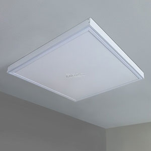 2x2ft Ceiling Mount Frame With Led Panel Lightcccw 1 1 1