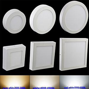 6W 12W 18W 24W LED Ceiling Light Surface Mount Square Surface Mounted LED Recessed Bedroom Living
