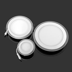 6W 12W 18W LED Font B Panel B Font Downlight Round Glass Font B Panel B