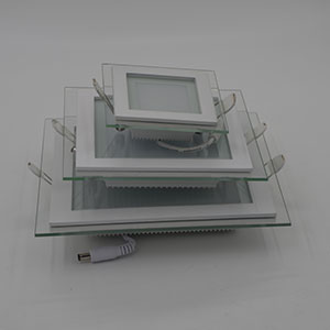 Dimmable LED Panel Font B Downlight B Font 6W 12W 18W Square Font B Glass B